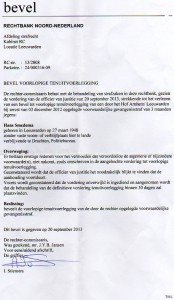 Rechter mr. J.Y.B. Jansen Rechtbank Leeuwarden corrupt!