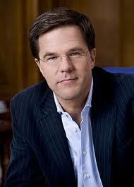 Laffe en corrupte Prime Minister Mark Rutte