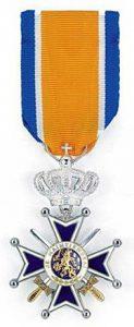 Rieks P. lid orde Oranje Nassau 25 april 2014