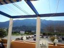 Warm op 1 februari 2012 uitzicht Tramonti, Parcent op Coll de Rates!
