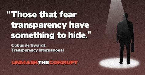 Unmaskthecorrupt
